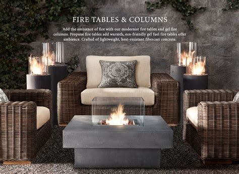 Restoration Hardware Firepit Heat Rh