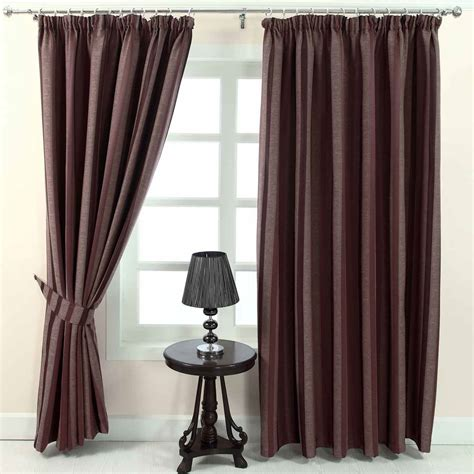 blue and cream striped curtains pencil pleat jacquard striped curtains fully lined blue