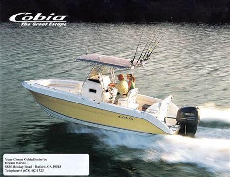 cobia 2005 brochure sailinfo i boatbrochure - Cobia Boats Brochure