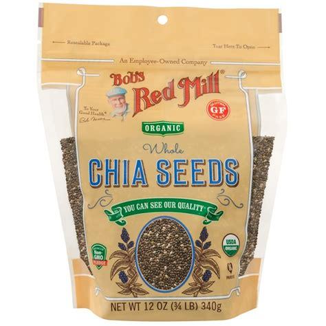 Bobs Mill Chia Seeds 16oz bob s mill oragnic whole chia seeds 12 oz 340 g iherb