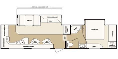 sunnybrook rv floor plans 2012 brookside by sunnybrook fifth wheel series m 276fwscs