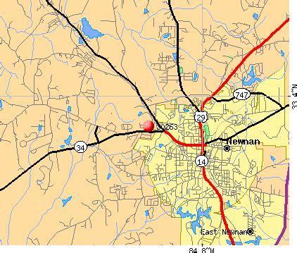 newnan map 30263 zip code newnan profile homes