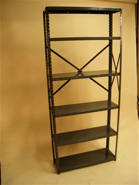 used industrial shelving used industrial metal shelving unit
