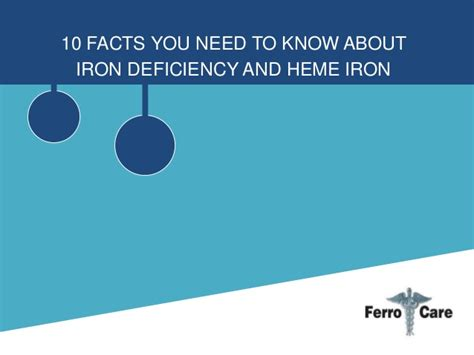 10 Facts About That You Need To by 10 Facts You Need To About Iron Deficiency And Heme Iron