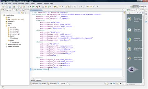 eclipse layout editor java android where is the visual editor for eclipse with the