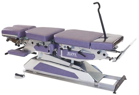 high low manual flexion elite chiropractic tables