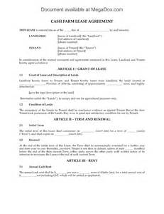 Alberta Lease Agreement Template alberta cash farm lease agreement legal forms and