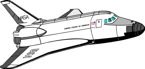 clipart space shuttle clip art library