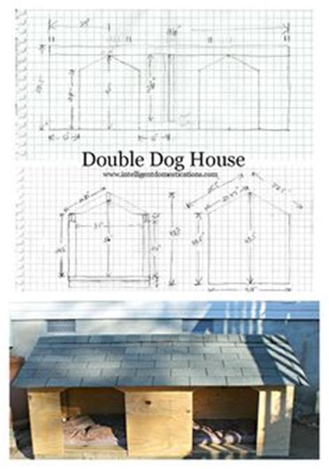 double dog house plans 1000 ideas about dog house plans on pinterest dog