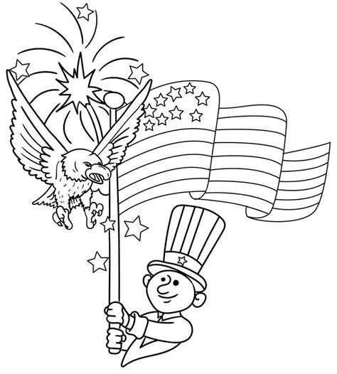 4th of july coloring sheets free printable 4th of july coloring pages independence