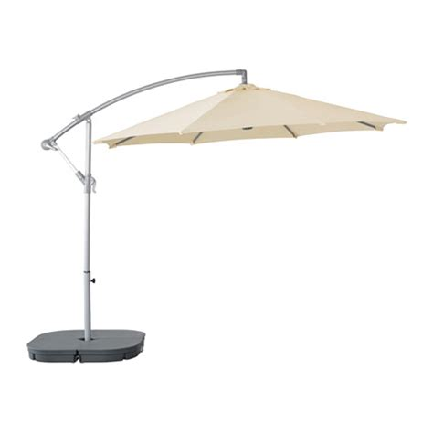 karls 214 svart 214 parasol hanging with base beige dark