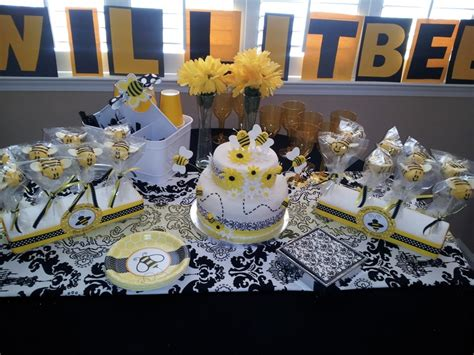 Bee Themed Baby Shower by Quot What Will It Bee Quot Themed Baby Shower Blinkies Custom