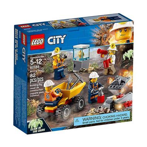 Mainan Lego Blok Lego Besar Isi 136 Pcs jual lego city 60184 mining team mainan blok harga kualitas terjamin blibli