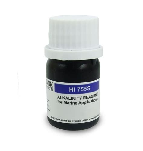 Marine Alkalinity Checker Reagents For Hi755 25 Tests Hi 775 26 hi 755 26 reagent for marine alkalinity pocket checker hi 755 25 tests