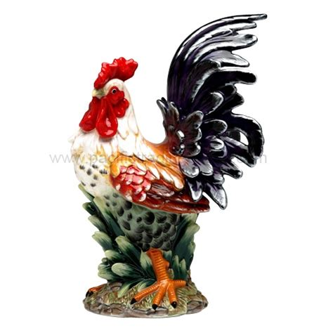 Ceramic Rooster Decor Ceramic Rooster For The Love Of Roosters Pinterest