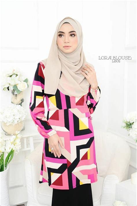 Blouse Naura Tunic blouse lora lb02 1 saeeda collections