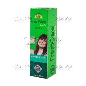 Fresh Care Green Tea 10 Ml jual beli minyak fresh care green tea 10 ml k24klik