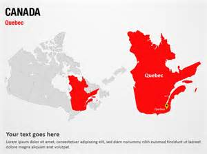 canada powerpoint map slides canada