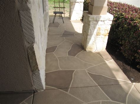 Painting Patio Concrete by 1000 Images About Painted Concrete On