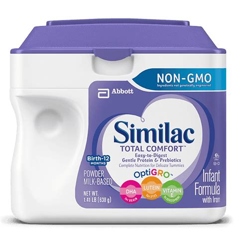 Similac Total Comfort by Similac 174 Total Comfort Non Gmo Baby Formula Easy To Digest