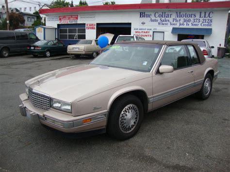 1988 Cadillac Eldorado Overview Cargurus
