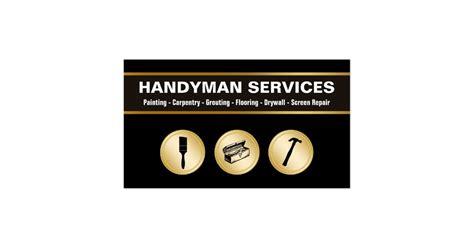 handyman services business card template handyman business cards zazzle