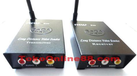 Wifi Biasa ubah cctv biasa jadi wireless dengan sender