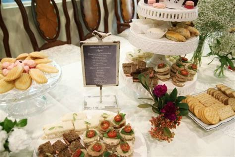 food ideas for bridal shower tea hearts and cookies rustic bridal shower bridal shower ideas themes