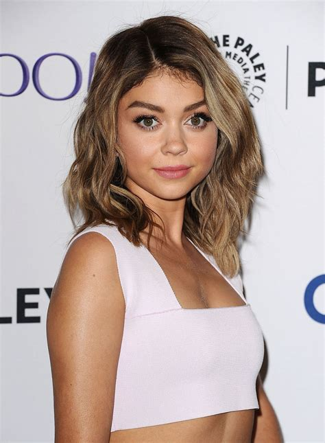sarah hyland blonde sarah hyland cut her hair off hair goals pinterest