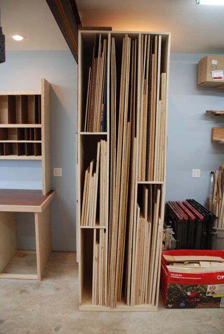 sheet stock storage  woodscrap  lumberjockscom