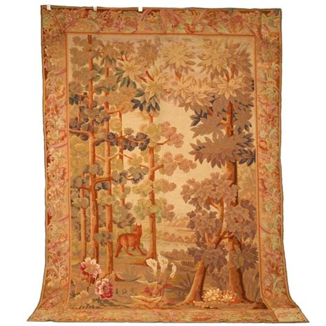 Handmade Tapestries - c 1850 handmade tapestry at 1stdibs