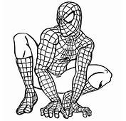 Coloring Spiderman Pages For Kids
