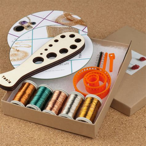 beginning jewelry kit diy jewelry kit beginners wire crochet kit 4 by yoola