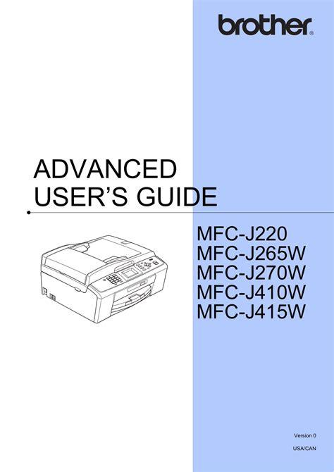 brother mfc j220 manual reset download free pdf for jbl j220 speaker manual