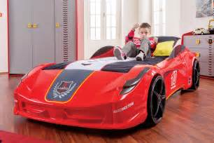 Toddler Size Car Bed Newjoy V8 Vento Race Car Bed
