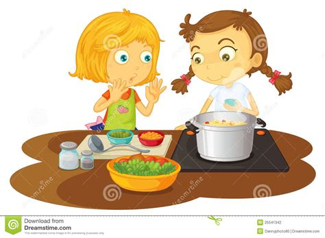 Kitchen Design Program Free Download by A Girls Cooking Food Stock Photography Image 25541342
