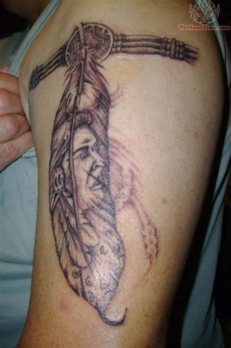 indian feather tattoos sioux indian tattoos indian armband ideas