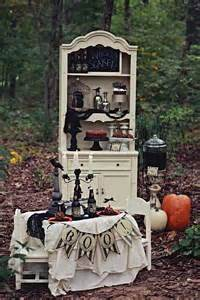 Kara s party ideas haunted forest owl outdoor budget halloween party