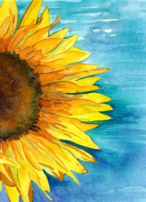 watercolour flower portraits 1782210822 best 25 watercolor sunflower ideas on sunflower watercolour sunflower art and