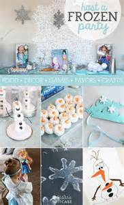 Disney FROZEN Party Ideas  My Sister's Suitcase  Packed with