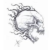 Best Tattoo Design Crazy Head Skull Tattoos