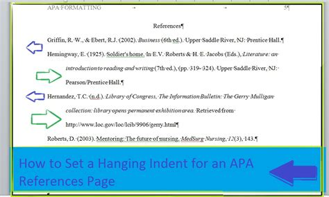 apa format indent paragraphs indent a paragraph hanging indent in powerpoint slides