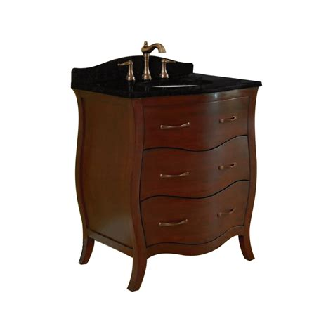 Lowes Bathroom Vanity Sinks Shop Allen Roth Single Sink Bathroom Vanity With Top Common 30 In X 21 In Actual 30 In X