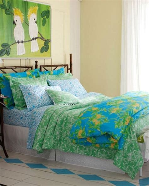 lilly pulitzer bedroom wallpaper 39 bright tropical bedroom designs digsdigs