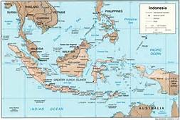 Surabaya Indonesia Map