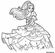 Print Out Barbie Beautiful Dress Coloring Pages  Printable