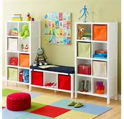 Kids Bedroom Storage Space