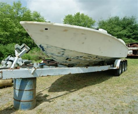 midnight express boat trader 30 midnight express w myco trailer 4500 in nc the