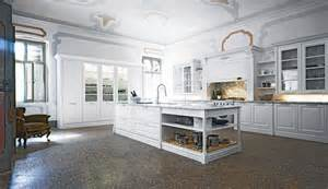 Home styles kitchen island in white with oak top and two stools also