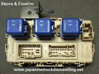 2000 04 nissan xterra fuse box junction relay box block